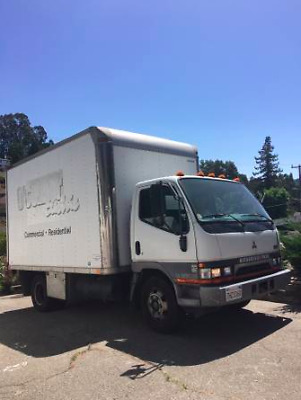 2003 Mitsubishi Fuso 12 Foot Box Truck