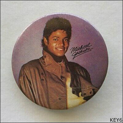 Michael Jackson Button Pin Badge (KEY6)