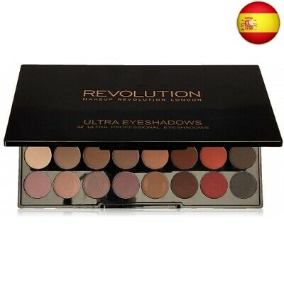 Makeup Revolution Ultra Eyeshadow Palette Flawless 2 Matte Paleta 32 matowych