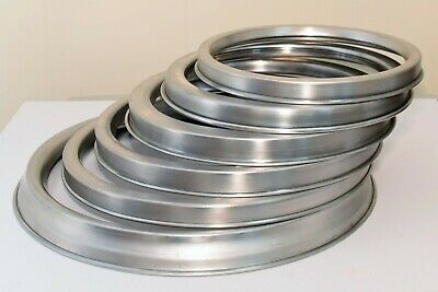 Aluminium Topping Saucing Ring For Pizza Pan Trays