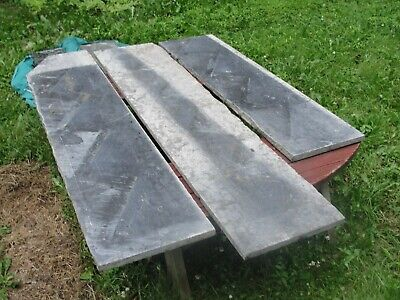 Black Grey Marble Salvage Slab Conrad Hotel Massillon Ohio
