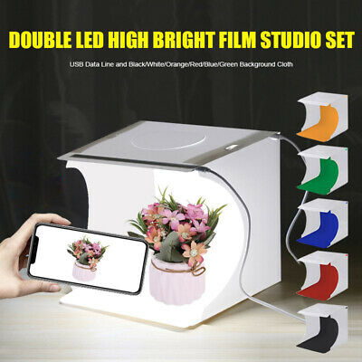 Mini Cube Photo Studio Photography Light Box Lighting Room Shooting Tent Kit