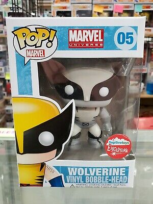 Funko POP! Marvel 05 Wolverine Black & White Fugitive Toys Exclusive