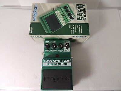 Digitech Bass Synth Wah Effects Pedal Synthesizer X-Series BSW w/Original Box