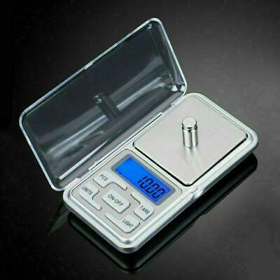 Mini Pocket Electronic Digital LCD Scale for weight 1-200g Jewellery Kitchen UK
