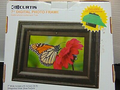 "Curtis 7"" Digital Photo Frame"