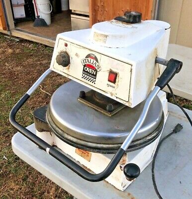 "Dough Pro Model 1100 18"" Heated Electric Manual Pizza Tortilla Dough Press"