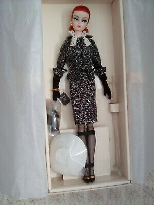 Barbie Fashion Model BLACK and WHITE TWEED SUIT Silkstone Gold Label Doll