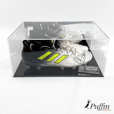 Football Boot Display Case (Double) - With Mirror Back