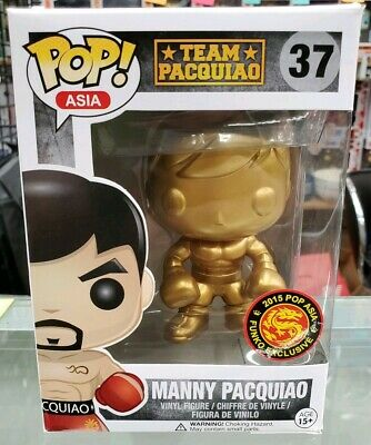 Funko POP! Team Pacquiao 37 Manny Pacquiao (GOLD) 2015 POP Asia Exclusive LE 10