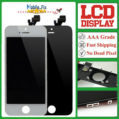 For iPhone 5 LCD Screen Display Touch Digitizer Assembly White New Replacement