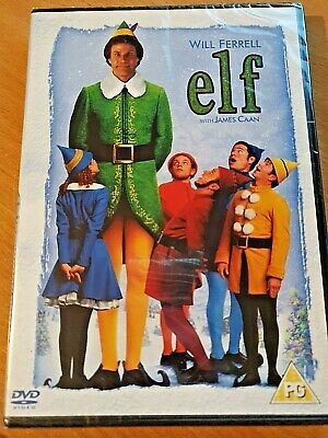 *New & Sealed* DVD - Elf - Will Ferrell Christmas Movie (2-Disc) UK Region 2