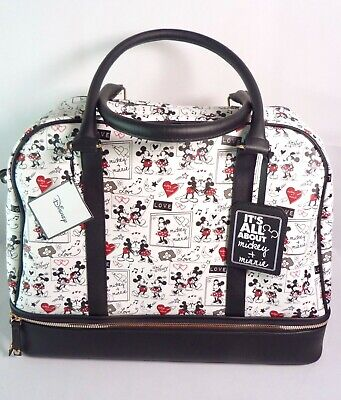 NEW Primark Disney Mickey & Minnie Mouse Weekend Luggage Holdall Travel Bag