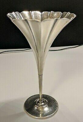 Tiffany & Co 16672a Makers 6386 Sterling Silver Vase