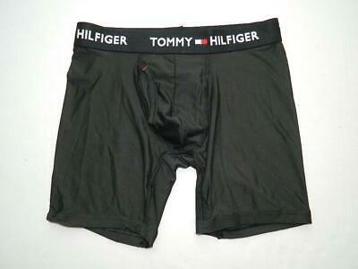 9035 Tommy Hilfiger 3-Micro Stretch Boxer Briefs Large 36-38  Green//Blue//Navy