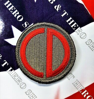 US Army WWII 78th Infantry Division dress uniform patch c//e