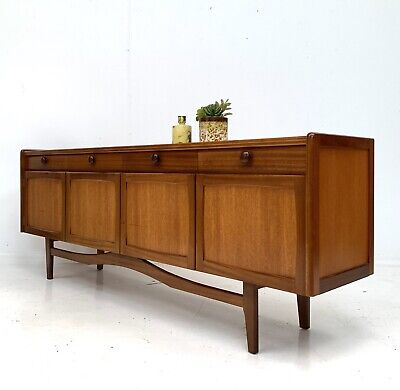 VINTAGE RETRO TEAK SIDEBOARD / TV MEDIA UNIT HAIRPIN LEGS Mid Century 1960s