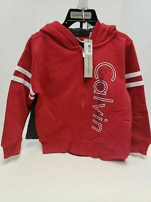 Calvin Klein Jeans Boys 2 Piece Hoodie And Pant Set  New