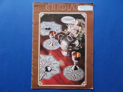 ## Knitted Lace - Coats Sewing Book #1230