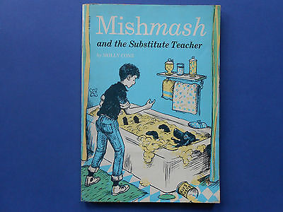 ## Mishmash And The Substitute Teacher - Molly Cone - First Edition - 1963