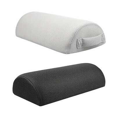 2Pcs Memory Foam Leg Foot Rest Pillow Cushion w/Washable Cover for office Travel