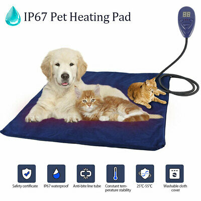 Self Heating Dog Cat Pet Bed Mat Thermal Radiator Heated Pad Washable Kitten US