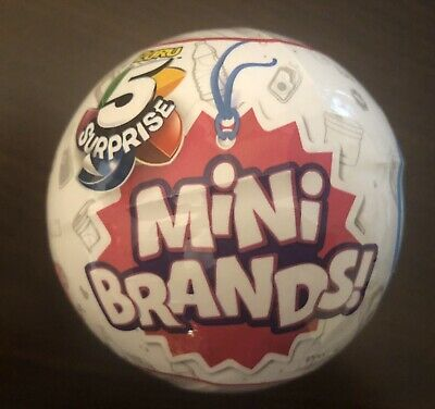 🔥🎄 5 Surprise Mini Brands 1 BALL -BY ZURU 100% AUTHENTIC HOT CHRISTMAS TOY