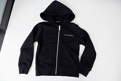Dsquared2 Dsq Black  Age 6 Years Hoodie Excellent Condition