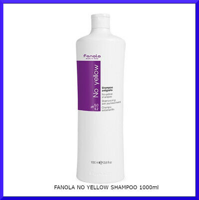 FANOLA NO YELLOW SHAMPOO 1000ml + FAST FREE DELIVERY