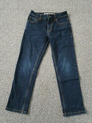 Tu Boys Straight Dark Blue Jeans Size 7 Years