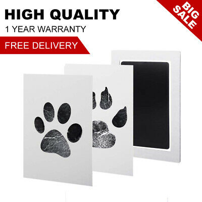 Baby Kids Pets Handprint Footprint Ink Pads Paw Print Kit Non Toxic Gift
