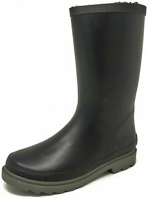 Boys Girls Wellies Teens Kids Childrens Wellington Rain Snow Boots Size 7-4