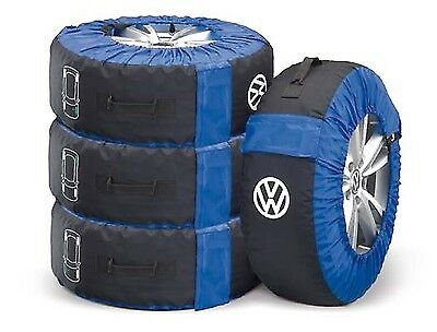 VW Volkswagen Wheel and Tyre storage covers Set of 4 New Genuine 000073900
