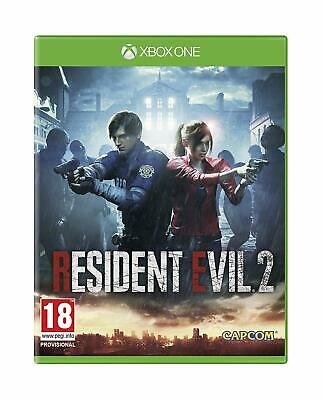 Resident Evil 2 Video Game For Microsoft Xbox One * Fast And Free Delivery*