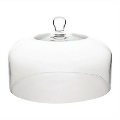 Olympia Glass Cake Stand Dome 285mm CS014 [5EN4]