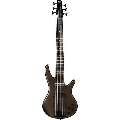 Ibanez Gio GSR206B-WNF Walnut Flat 6 String Electric Bass Guitar