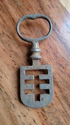 Antique Odell Latch Key - French Latch Lifter - Edinburgh Tenement 19th C.