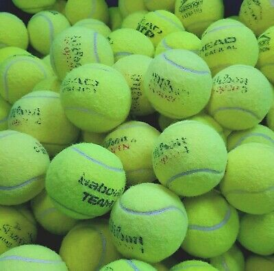 15 Used Tennis Balls. Very Good Condition. All Branded Balls. Ball Games / Dogs