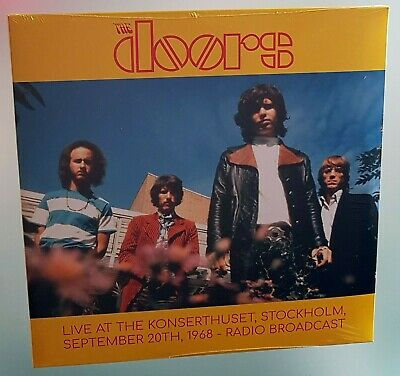 The Doors Live At The Konserthuset Stockholm 1968 Radio Broadcast Lp Vinile 2xlp