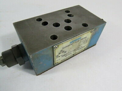 Vickers DGMFN-5-X-A2W-B2W-30 Flow Control Valve 4570PSI  USED