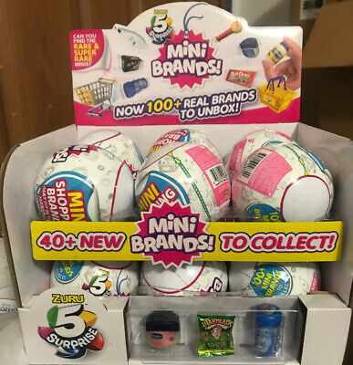 Zuru 5 Surprise Mini Brands Collectable Capsule. This Is For 12 Balls + Display