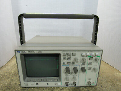 Tested Working HP 54600A 100MHz Two-Channel Portable Digitizing Oscilloscope