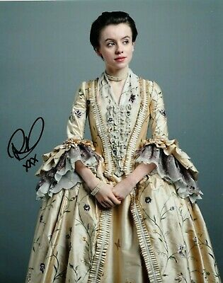 """Rosie Day Autograph Signed 10"""" X8"""" Photo (Outlander) Coa  55"""