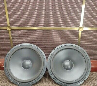 """2 Vifa Speakers P21WO-10 8"""" Woofers Tested Audiophile"""