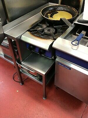 blueseal commercial 2 ring gas hob with stand
