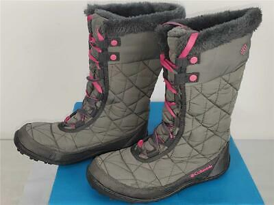 Columbia Girls Youth Minx Mid II Waterproof Snow Boots Size 4 Youth Big Kid