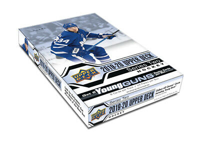 2019-20 Upper Deck Series 2 Hockey Hobby Box New/Sealed NOW SHIPPING