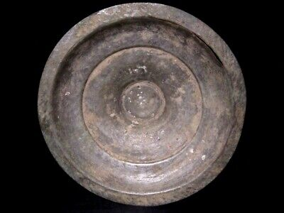 Attractive Medieval Household Copper Plate In As Found Condition+++