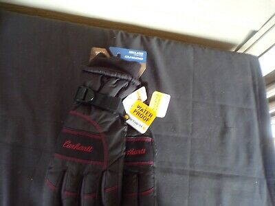Carhartt Women's Waterproof Insulated Cold Weather Gloves. Wa684 Medium New