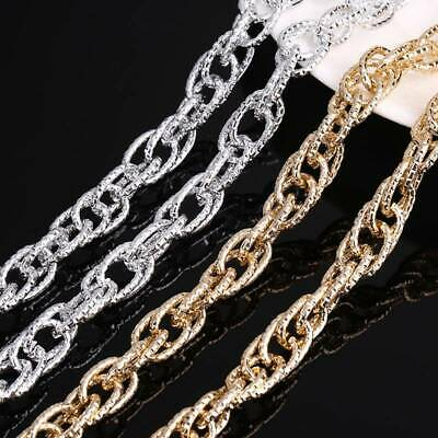 2 Meters 4-ring /& oval chain findings W28453